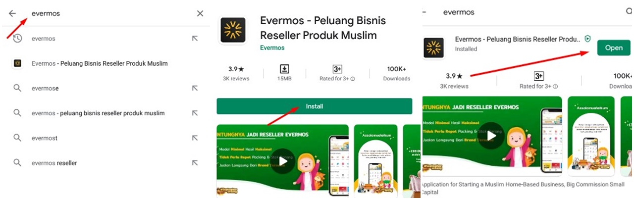 Download Aplikasi Evermos