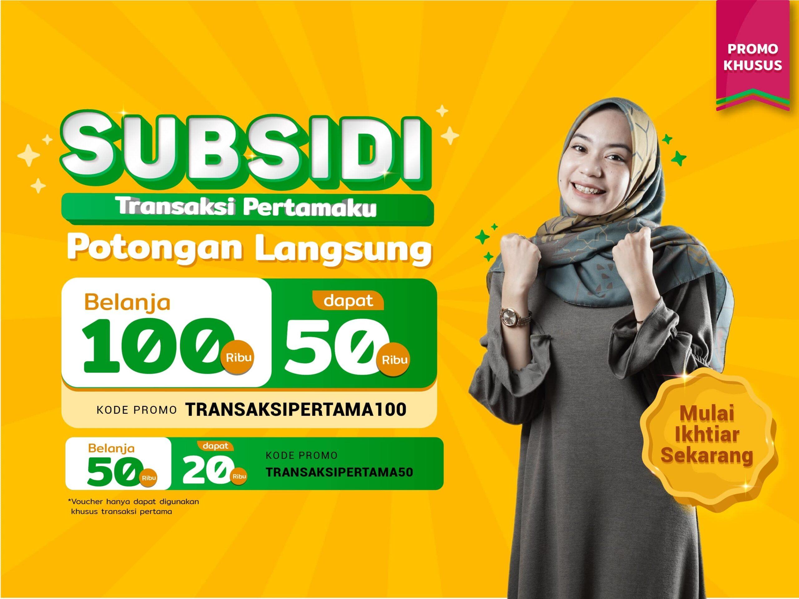 Subsidi Transaksi Pertama