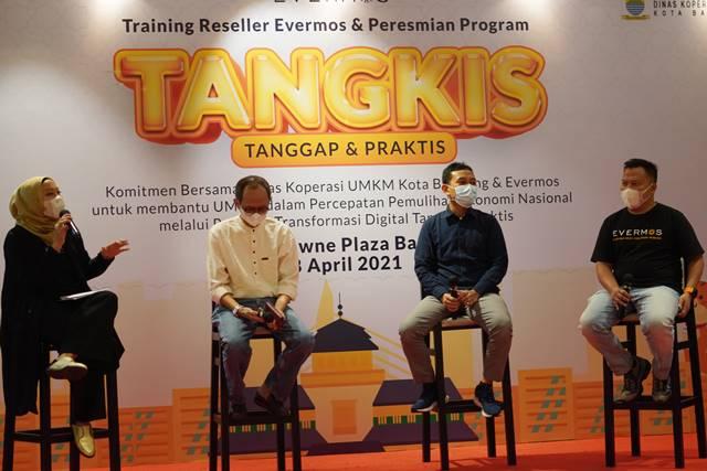 Evermos Bersama Pemkot Bandung Bangkitkan Pelaku UMKM