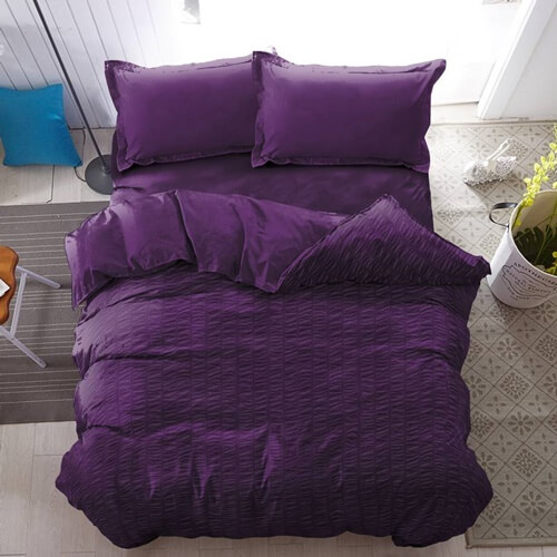 Bed Cover Only Purple Pennant