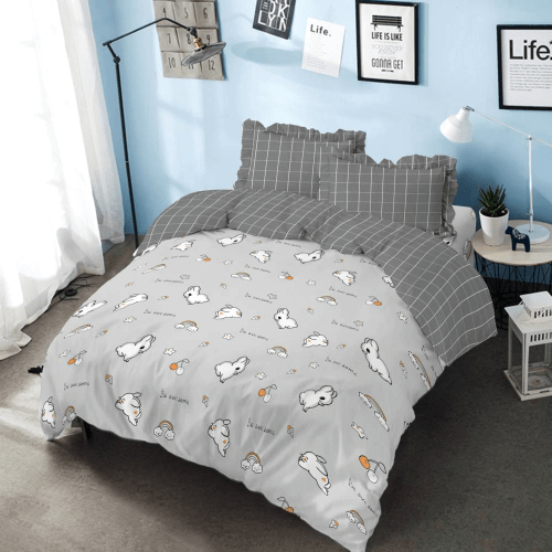Bed Cover Set King 180 Bunny