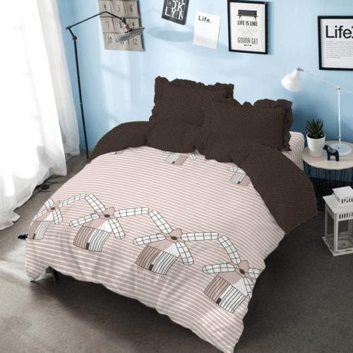 Bed Cover Set King 180 Molino Kintakun