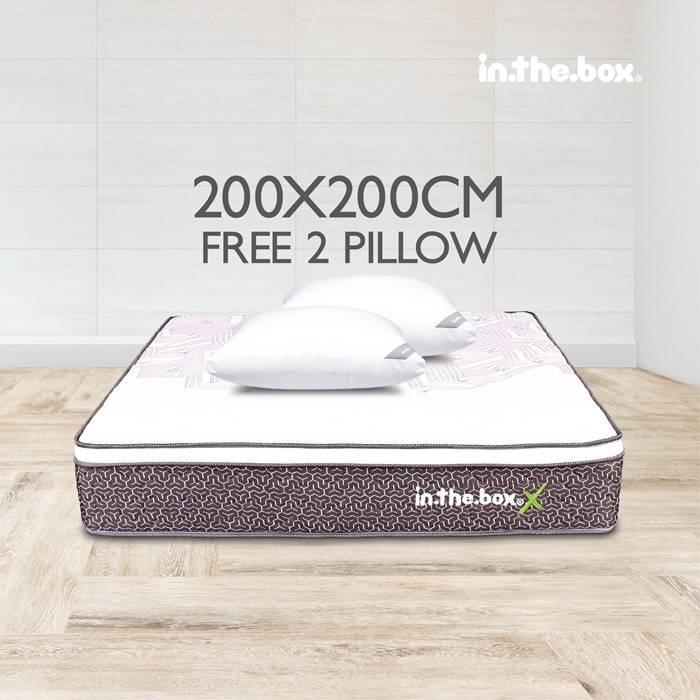 Kasur Spring Bed Inthebox X (Super King)