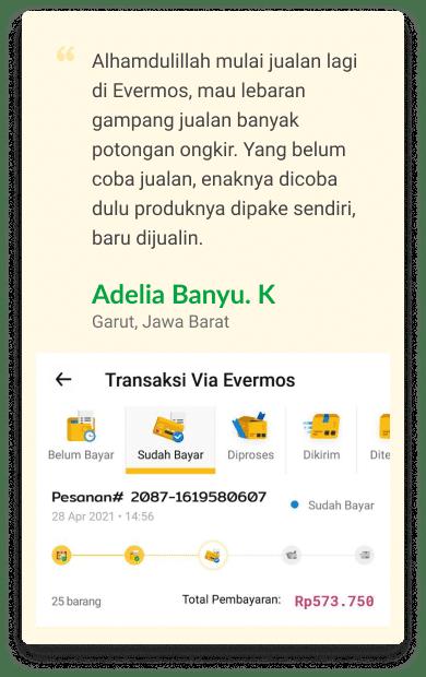 Testimoni Reseller Evermos Indonesia