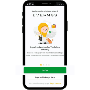 Cara Daftar Aplikasi Evermos di Android